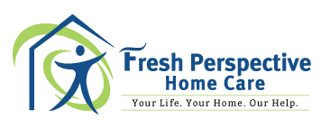 Fresh Perspective Home Care in Portage, MI Logo and Tagline